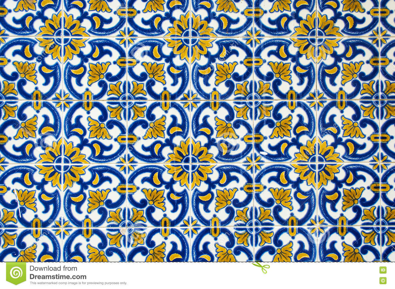 Azulejos Azulejos Royalty Free Stock Image Cartoondealer