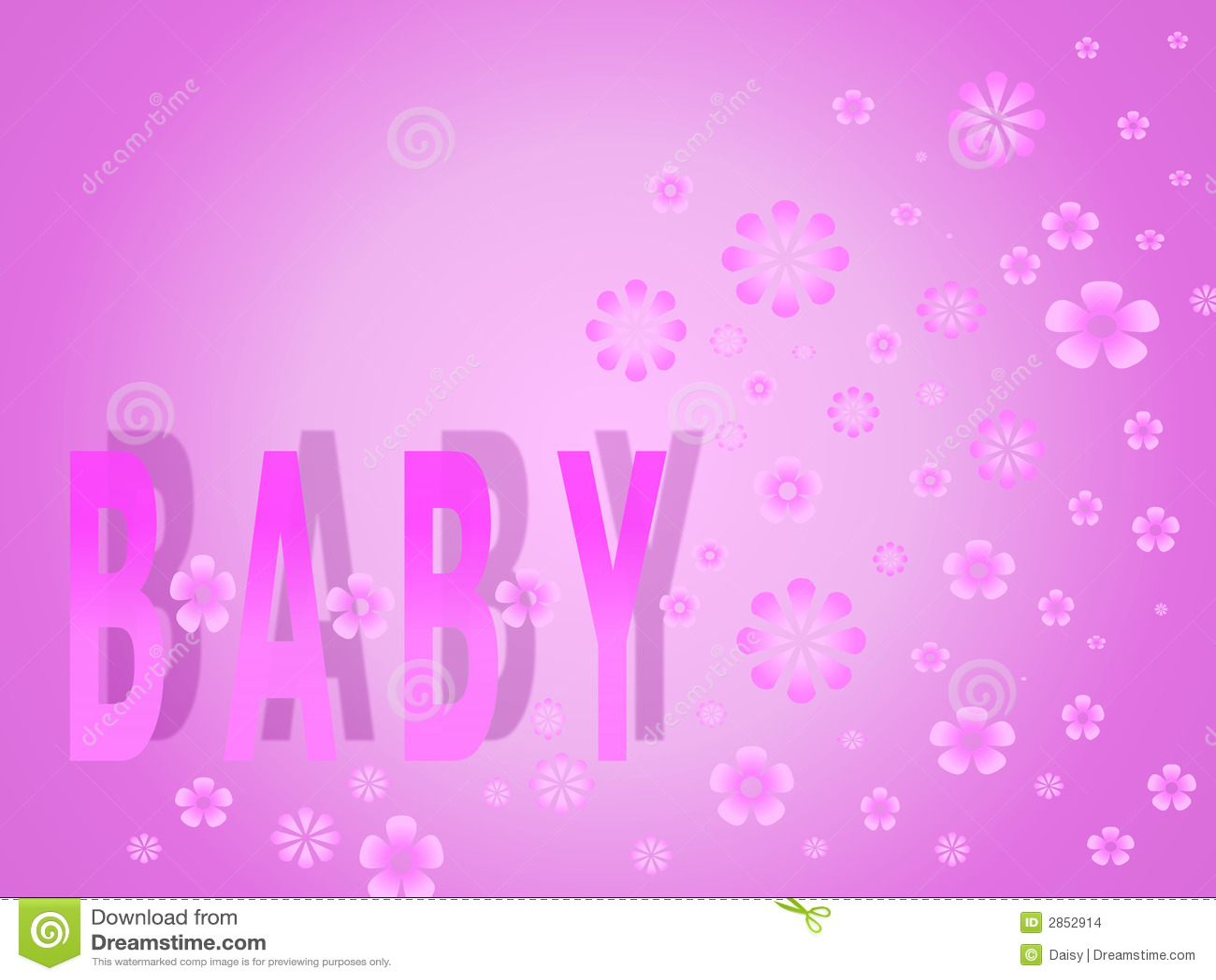 Girl Baby Shower Wallpaper Baby Girl Stock Images Image 2852914
