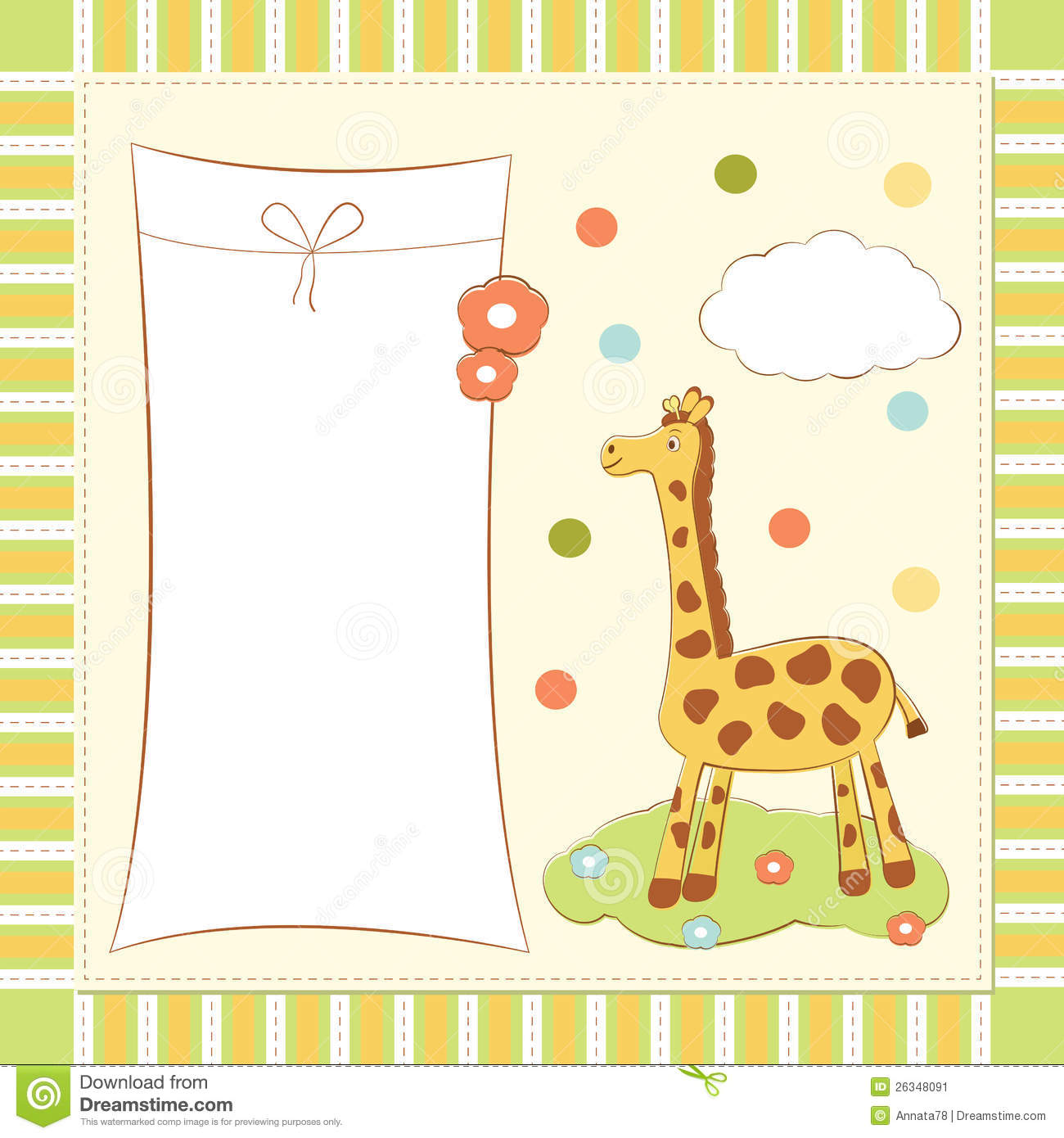 welcoming baby card