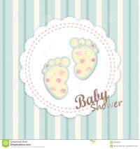 Baby Shower Card Design Stock Vector - Image: 60375306