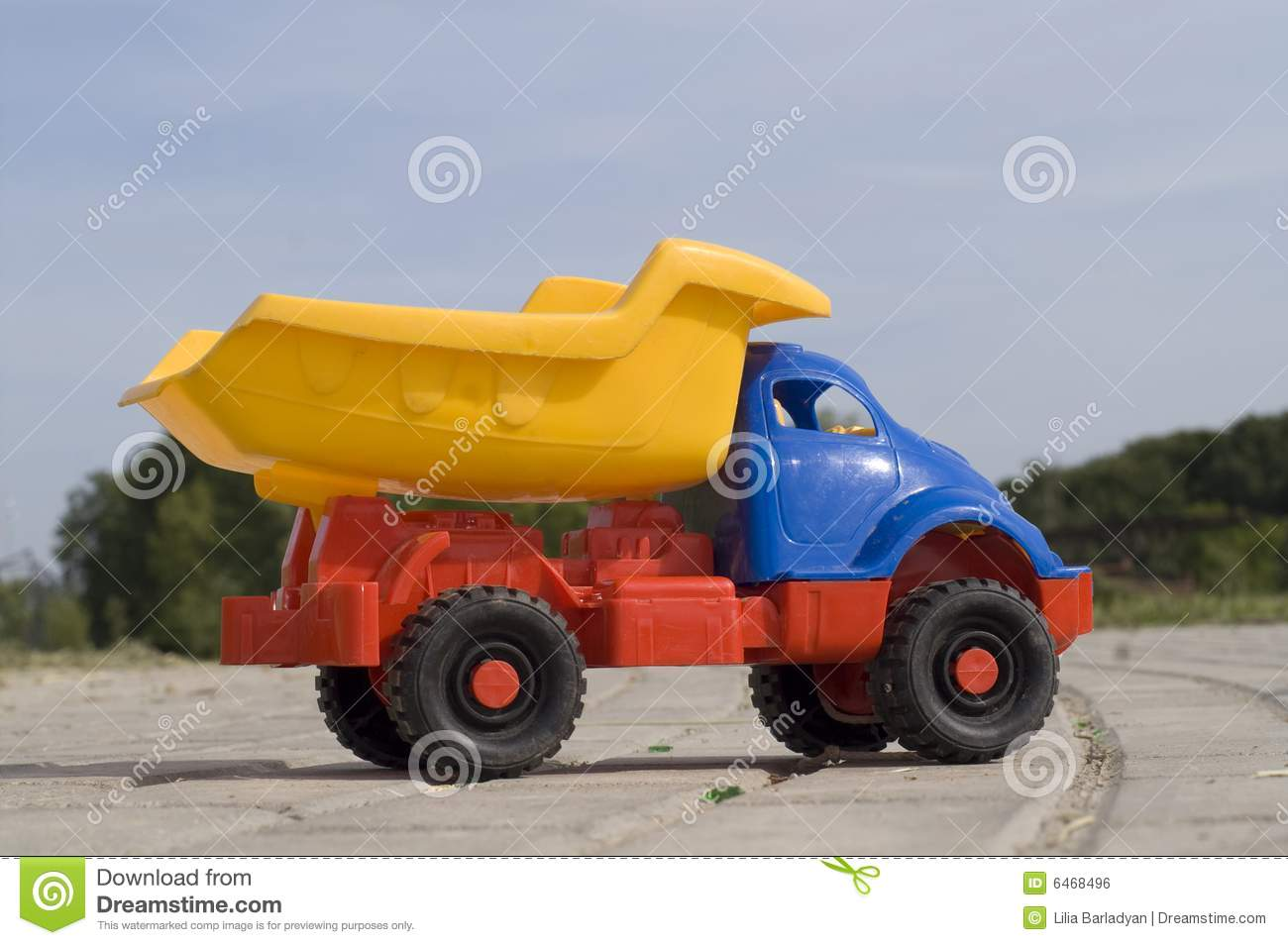 Baby Truck Baby Toy Dump Truck Royalty Free Stock Image Image 6468496