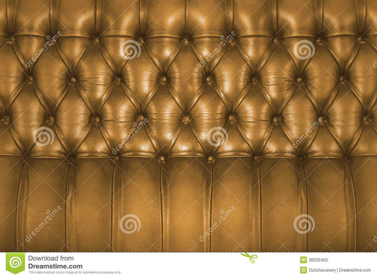 Chesterfield Sofa Texture Backboard Of A Vintage Chesterfield Sofa Stock Photos