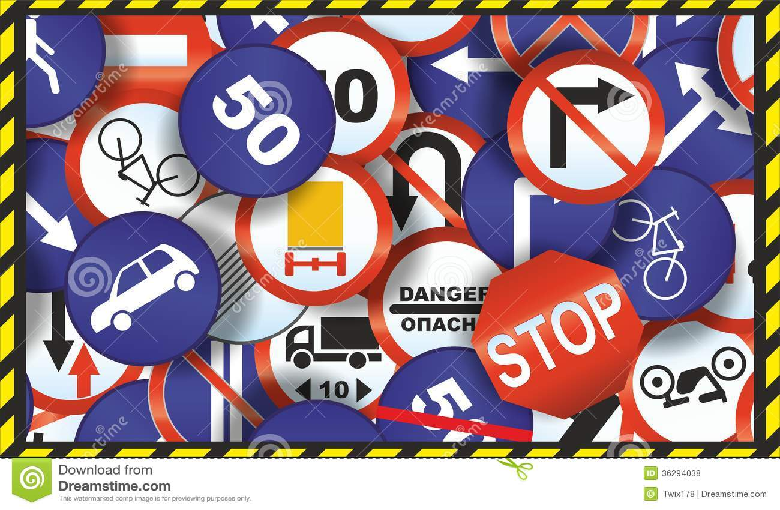 3d Printing Wallpaper Hd Wallpaper Of Traffic Signs Stock Photo Image Of Signpost