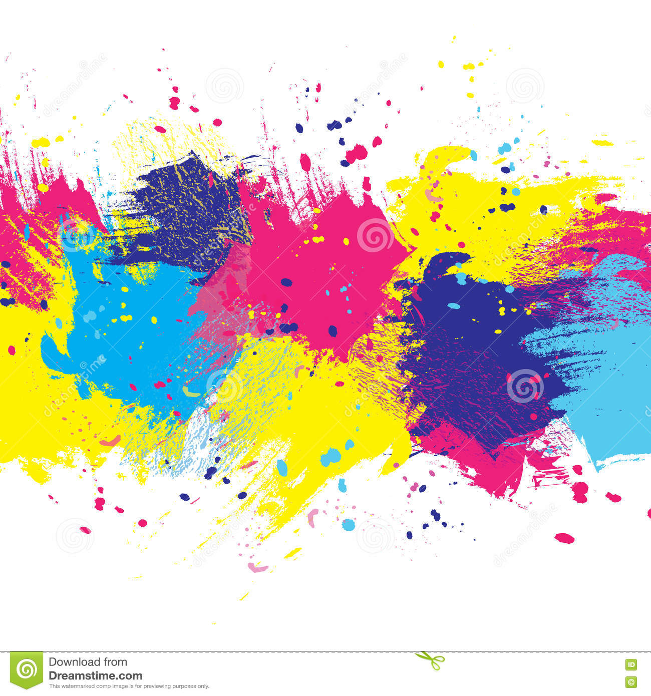 Background white color paint stock vector image 72065996
