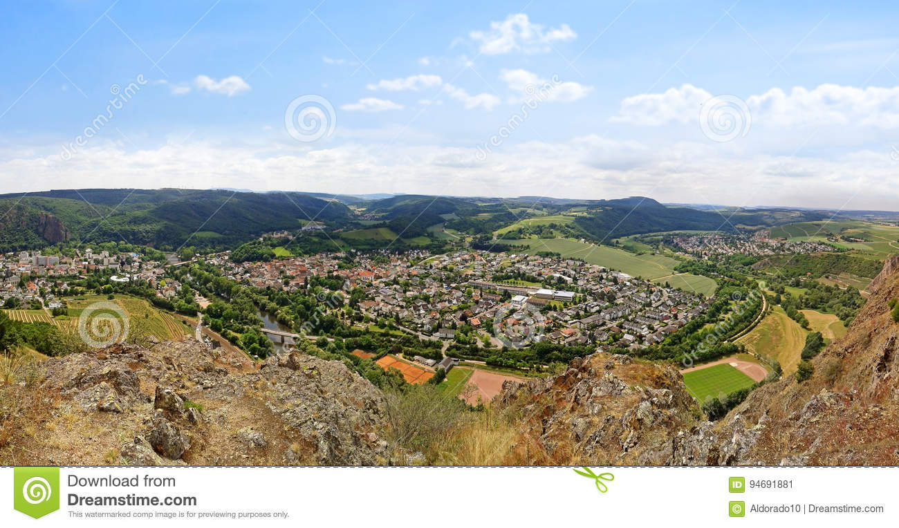Bad Stein Bad Munster Am Stein Ebernburg Stock Image Image Of Germany