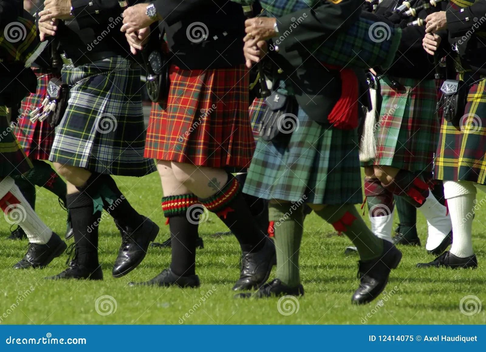 Bagpipe Band Royalty Free Stock Photo Image 12414075