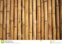 Bamboo Wall Stock Photo - Image: 60466588