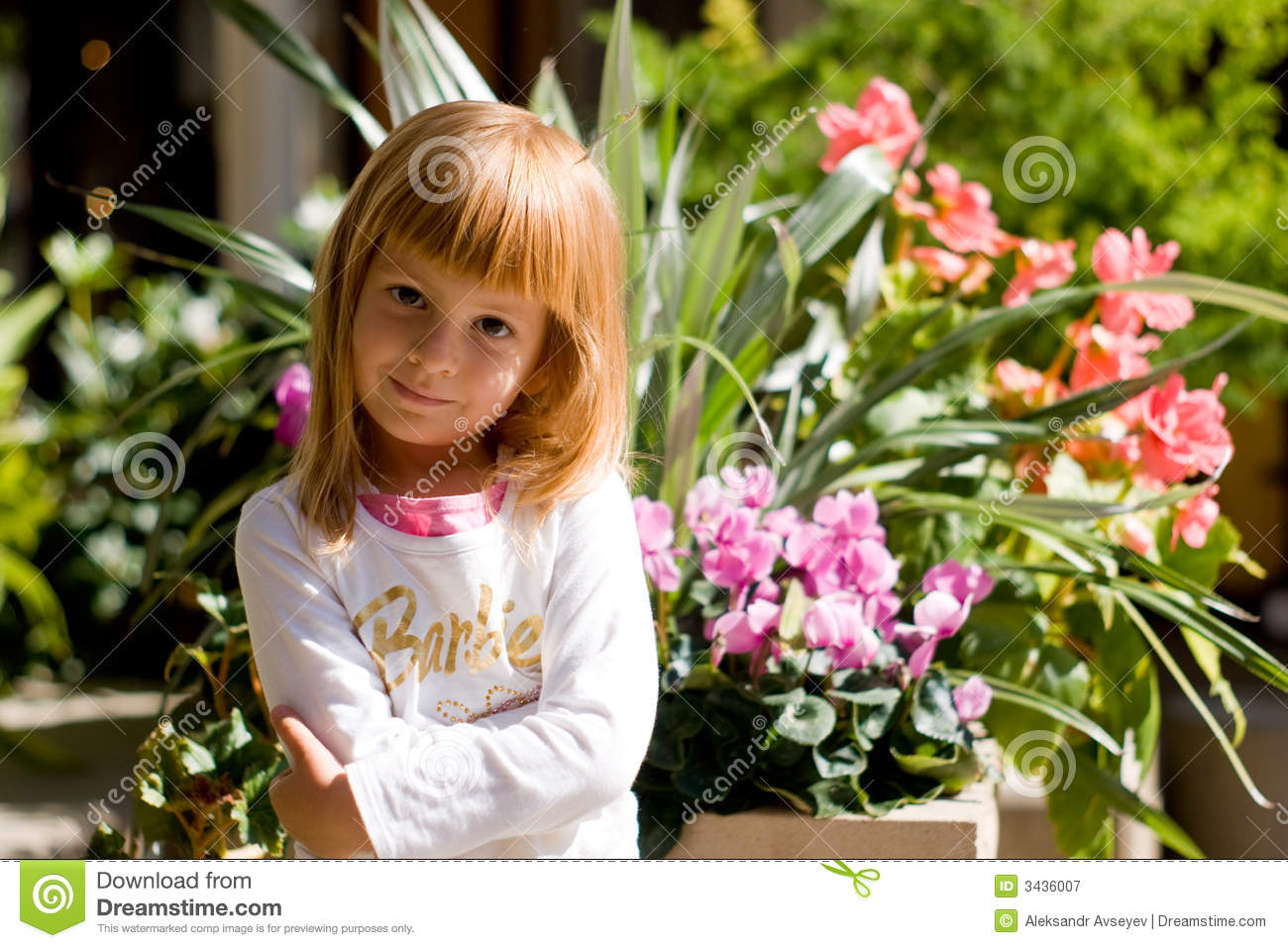 Cute Kid Wallpapers Free Download Barbie Girl Stock Image Image Of Smile Smiling Eyes