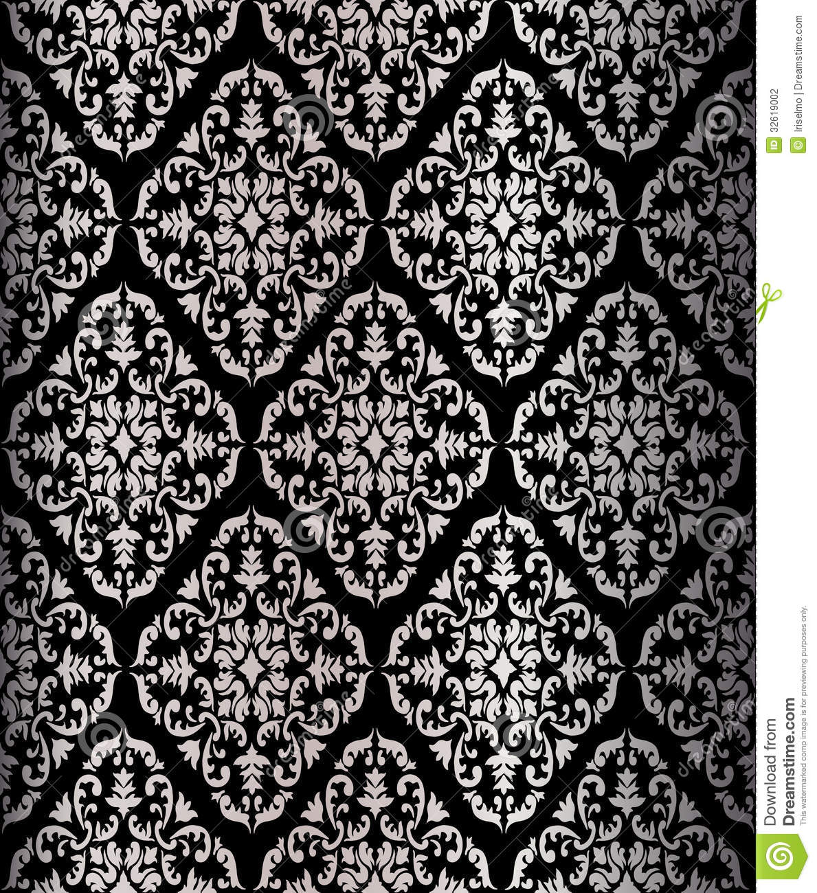 Cute Lace Wallpaper Barocco Seamless Pattern Stock Photography Image 32619002
