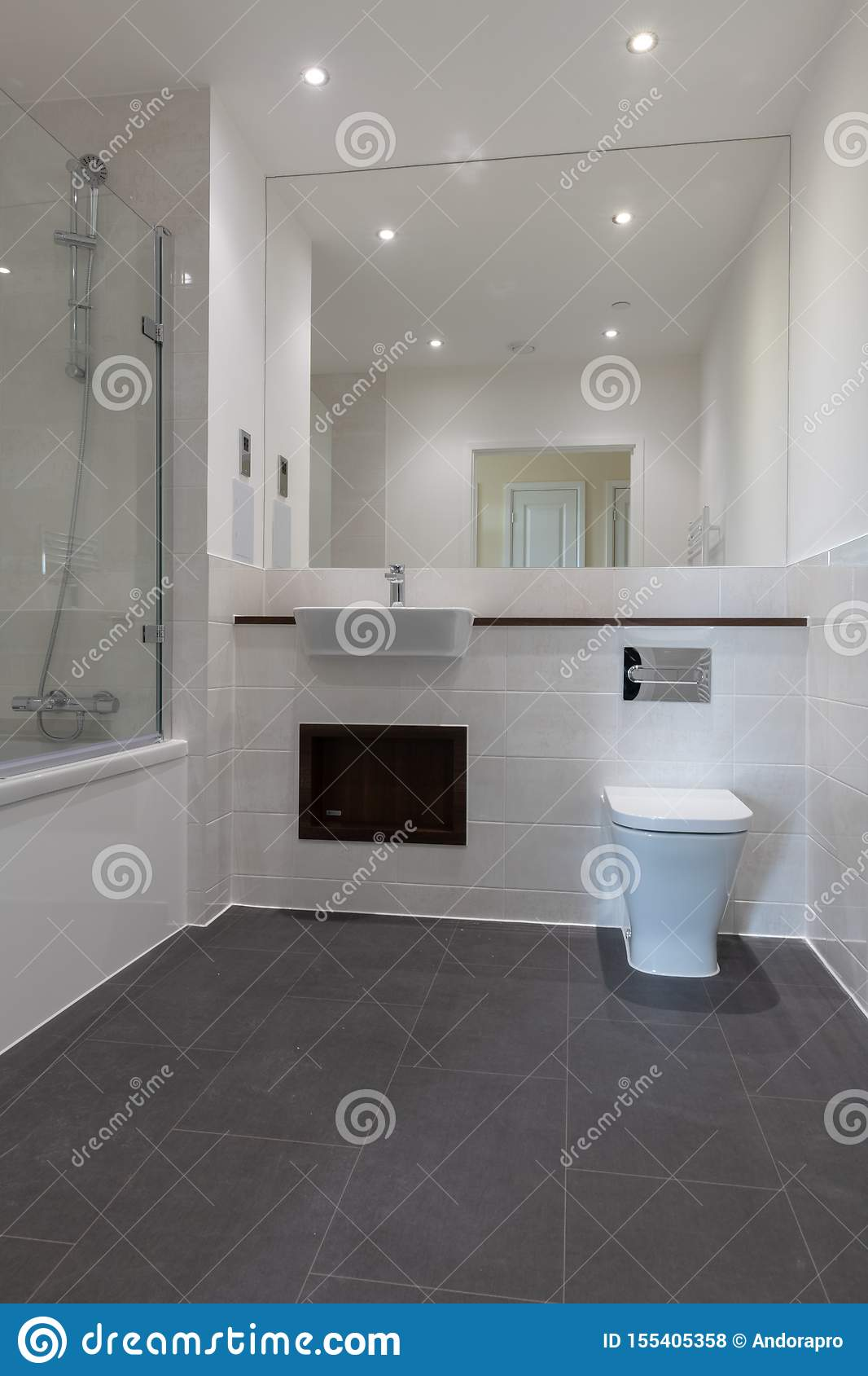 Bathroom Stock Photo Image Of Lavatory Walls Restroom 155405358