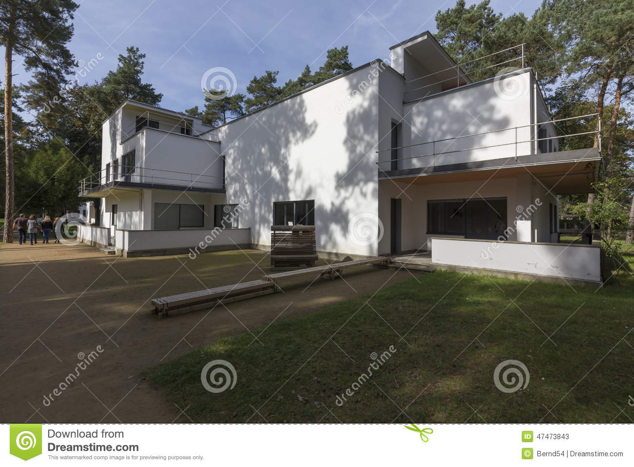 Bauhaus Villa Bauhaus Villa Editorial Stock Photo Image Of Buildings 47473843