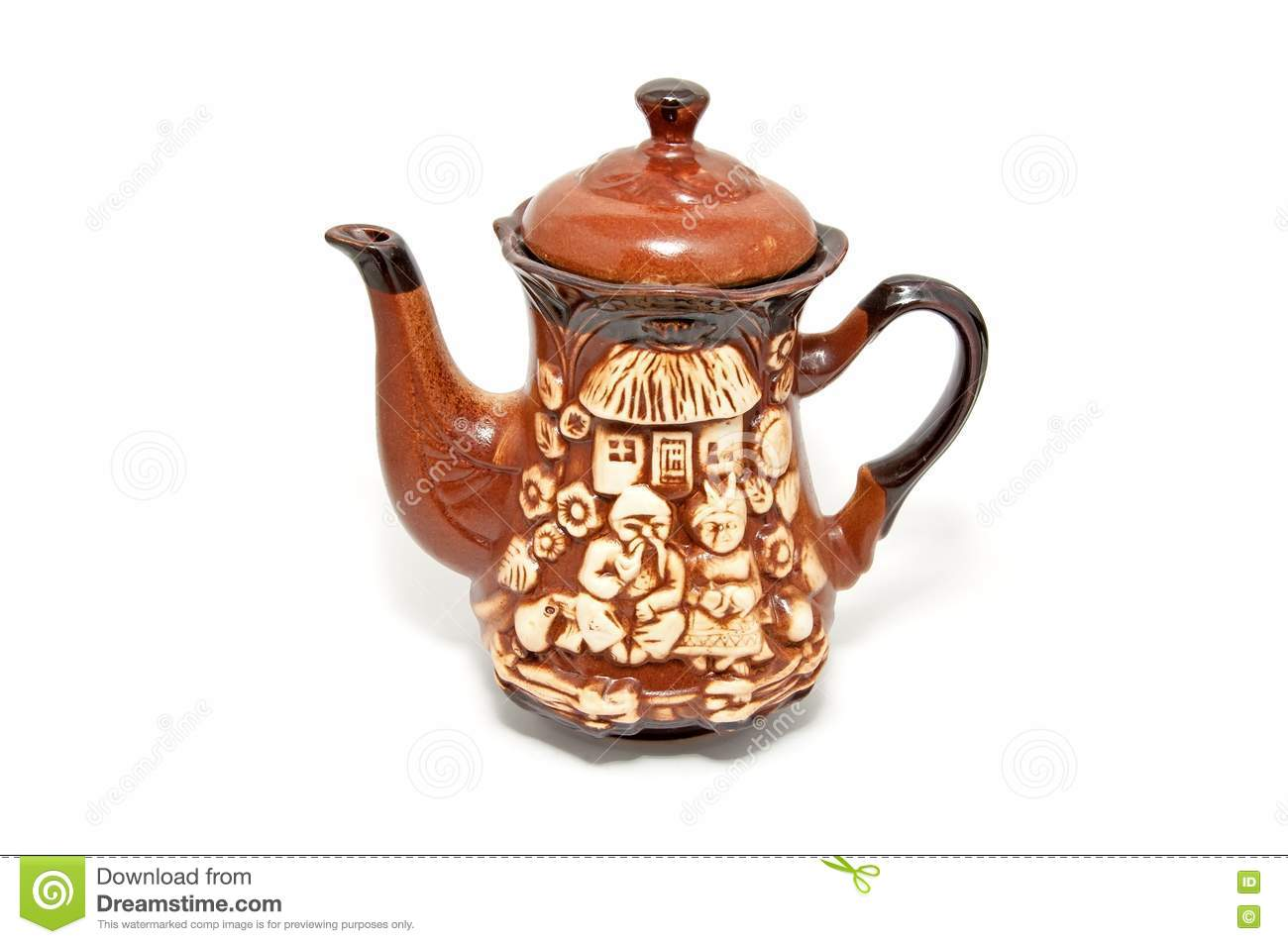 Beautiful Teapot Beautiful Ceramic Teapot Stock Images Image 17817374