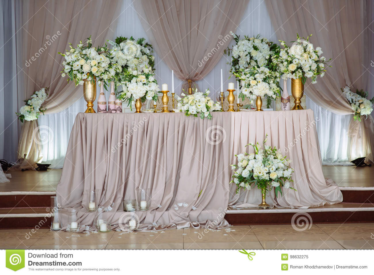 Decoration De Restaurant Beautiful Decorated Wedding Restaurant For Marriage Colorful
