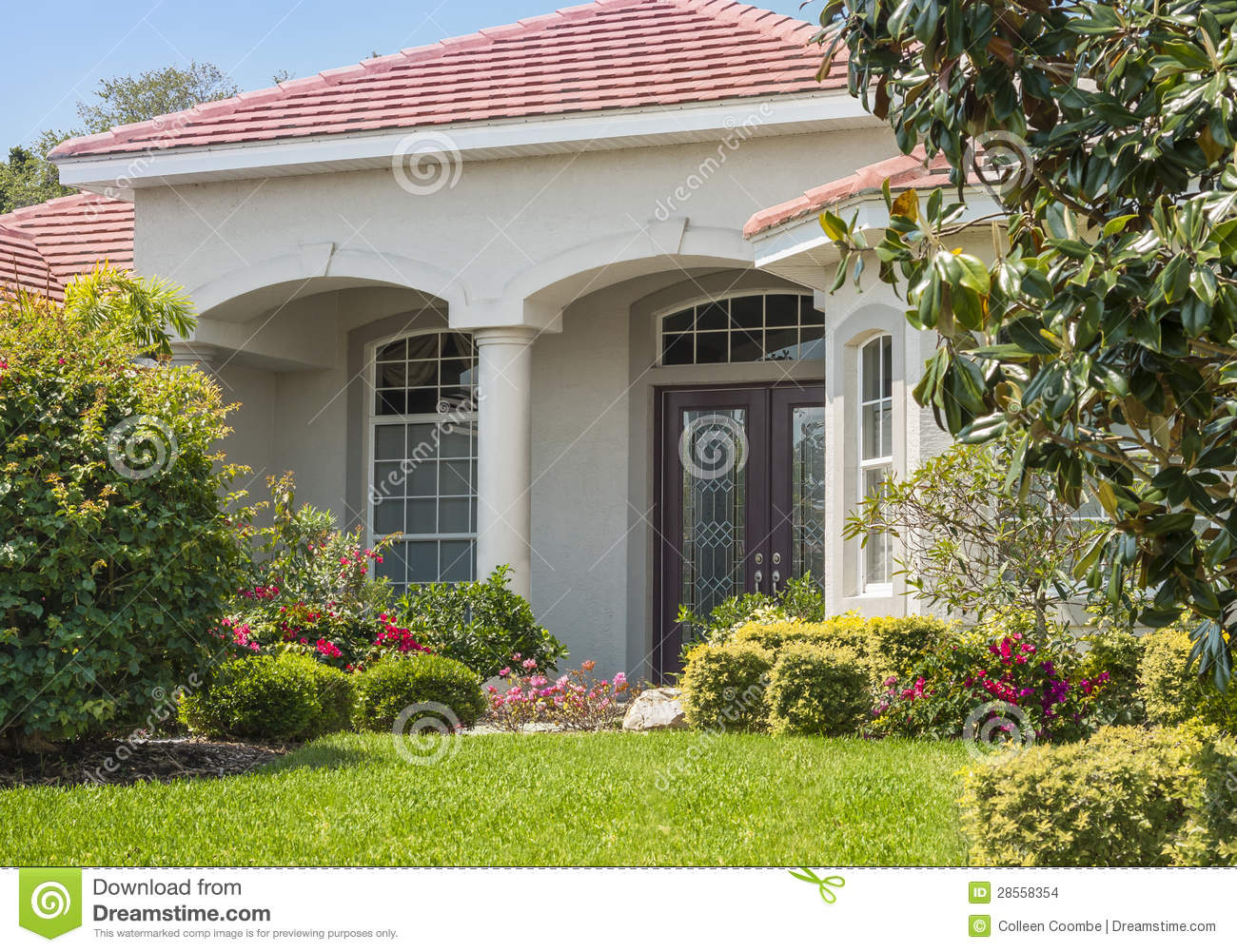 Beautiful Home Entrances Beautiful Entrance To Home Stock Images Image 28558354