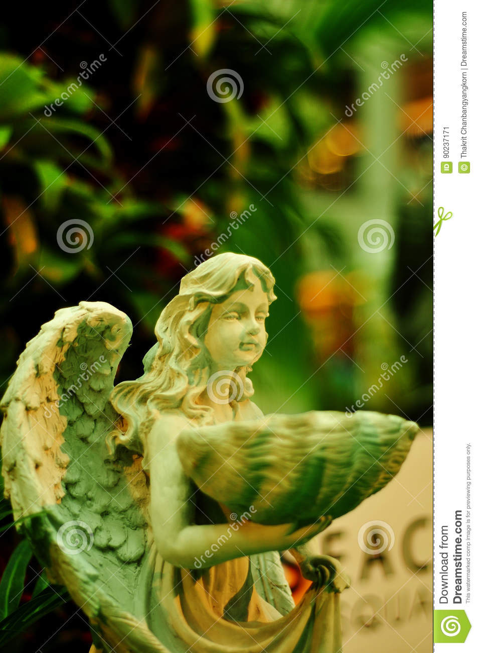 Faerie Statues Beautiful Fairy Stock Image Image Of Palace Girl Classical