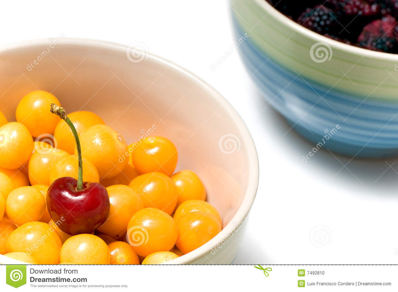 Beautiful Fruit Bowls Beautiful Fruit In Bowl Stock Photo Image 7492810
