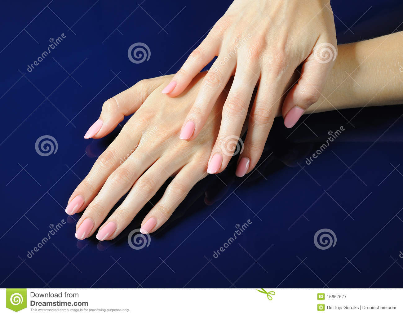 beautiful hands and nails stock image image of closeup