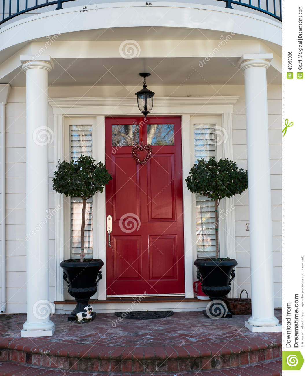 Beautiful Home Entrances Beautiful House Entrance Stock Photo Image Of Brick