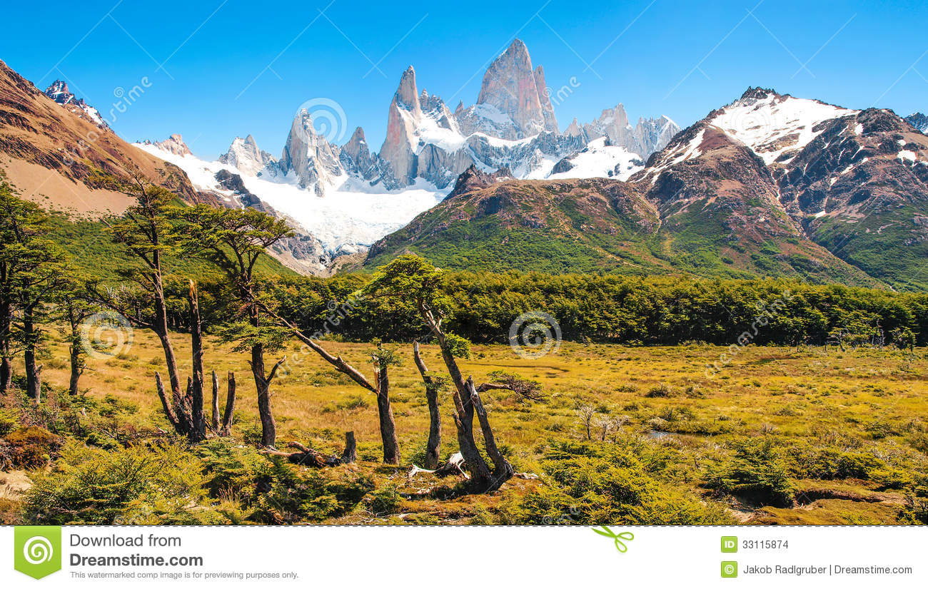 Fall Mountain Wallpaper Free Beautiful Landscape With Mt Fitz Roy In Los Glaciares