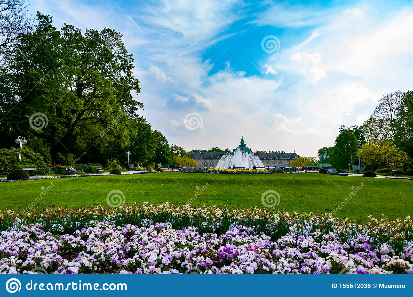 Beautiful Park In Front Of Spa House In City Of Bad Oeynhausen - Bad Oeynhausen Hotel