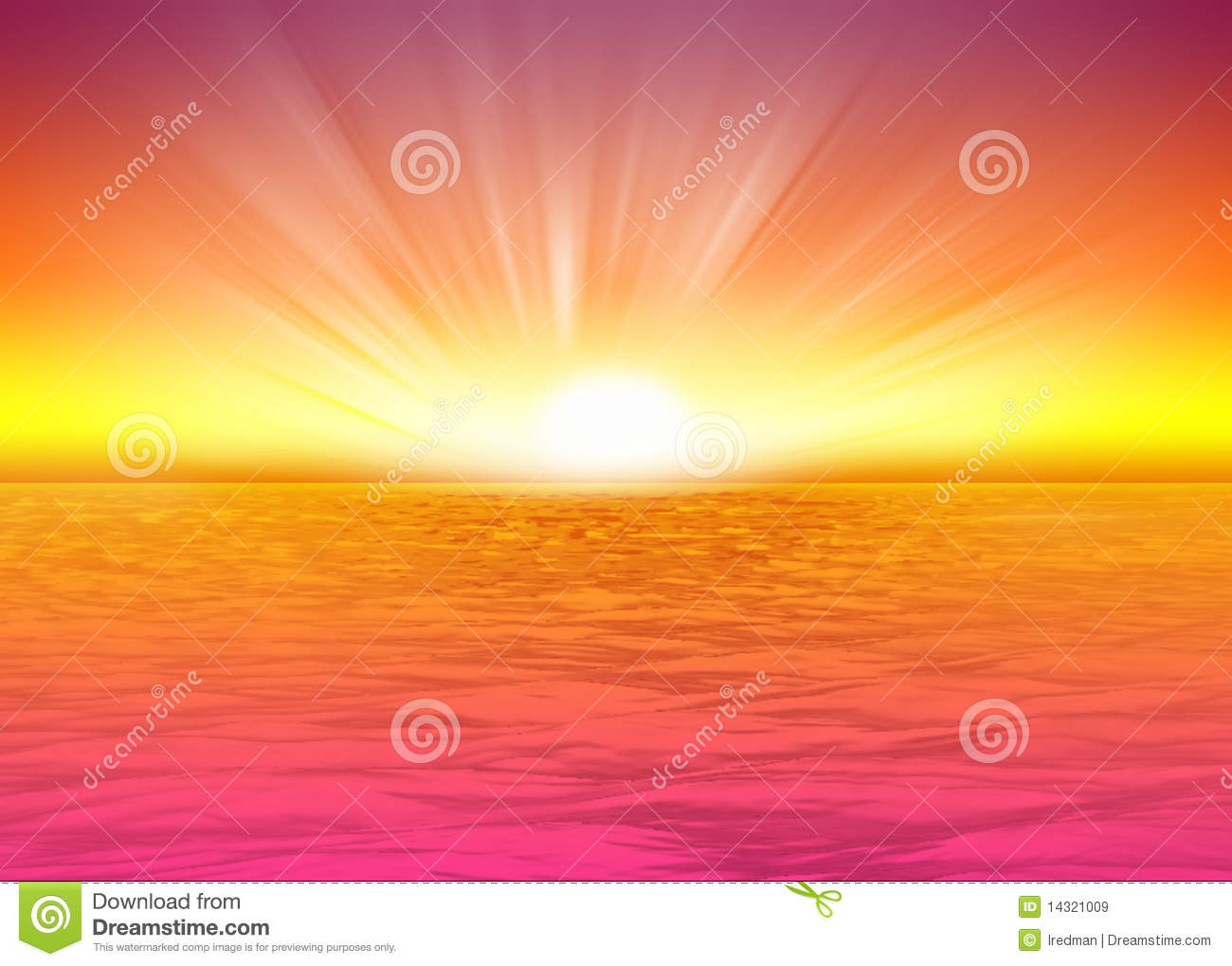 Lion Picture Clipart Beautiful Sea Background Rising Sun Royalty Free Stock
