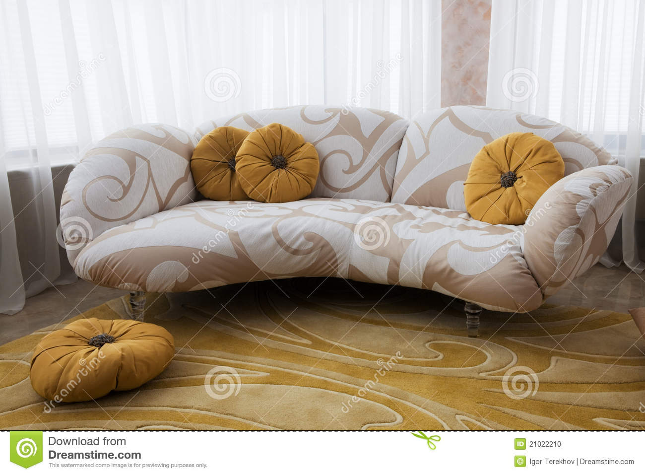 Beautiful Sofas Beautiful Sofa Stock Photo Image 21022210