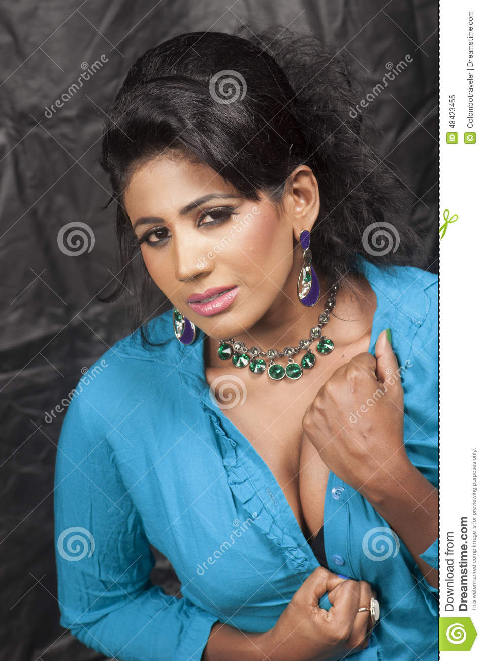 Download Foto Model Beautiful Srilankan Hot Model Stock Image Image Of Srilankan