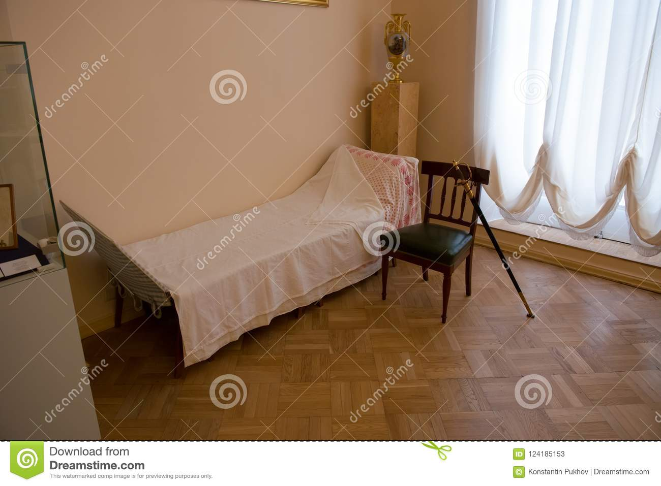 Emperor Bed Bed Of The Emperor Alexander 2 Editorial Stock Photo Image Of