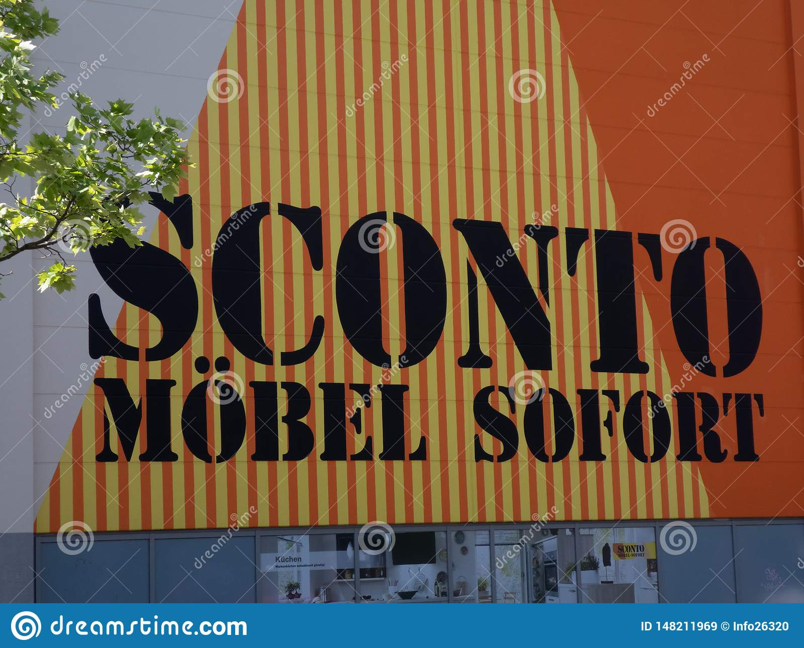 Möbel May Sconto Mobel Store Editorial Stock Image Image Of Furniture