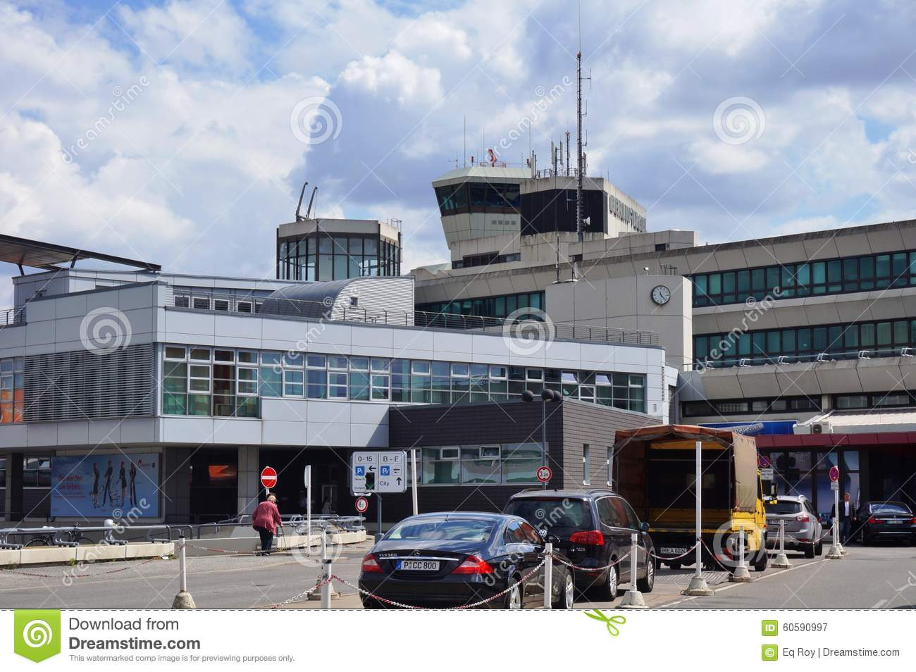 Flughafen Tegel Gate C The Berlin Tegel Otto Lilienthal Airport Txl In Berlin Germany