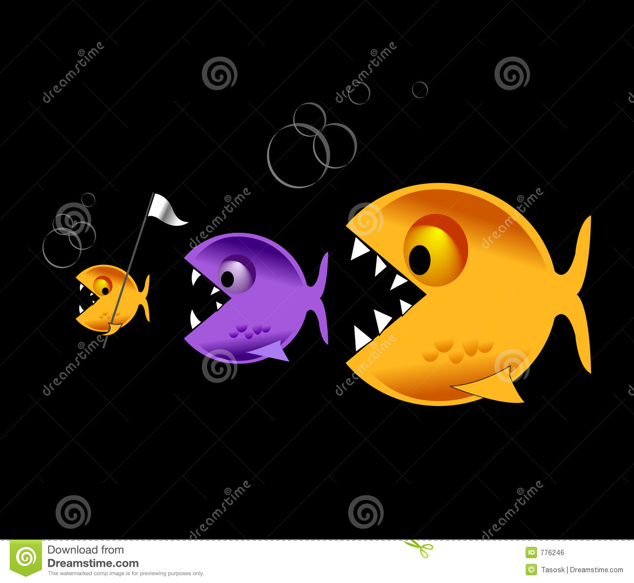 Clipart Images House Big Fish Eat Little Fish Royalty Free Stock Image Image