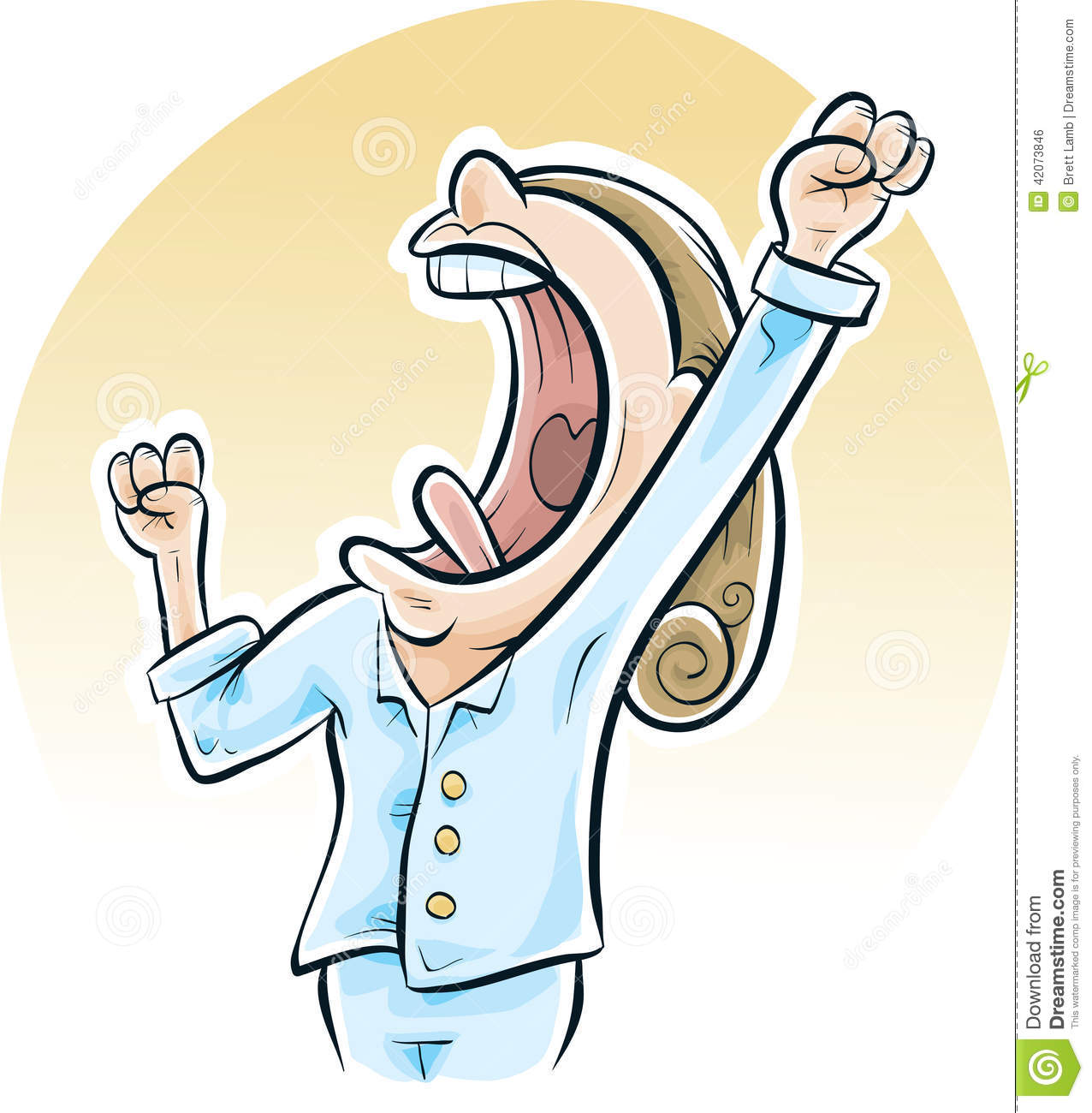 Yawn Stock Illustrations 2 203 Yawn Stock Illustrations Vectors Clipart Dreamstime