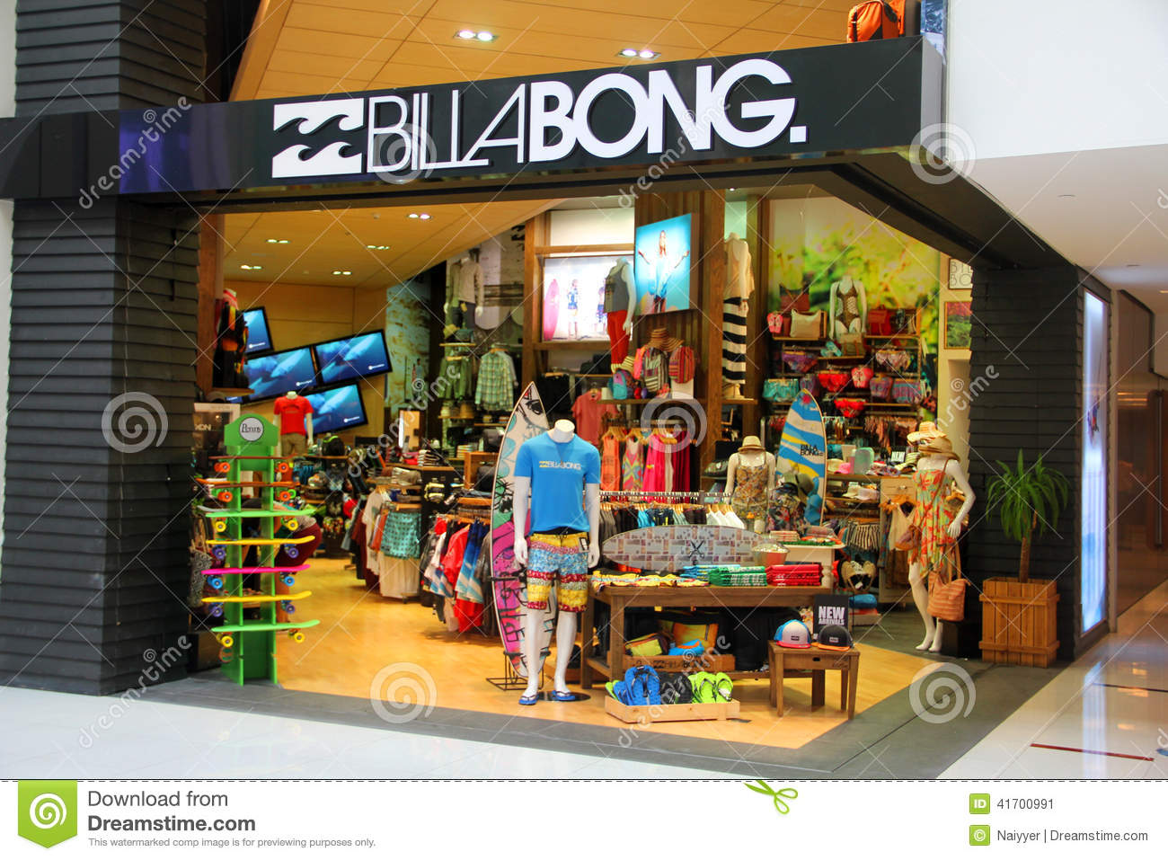 Business Plan Marketing And Sales Investopedia Billabong Retail Outlet Editorial Photo Image 41700991