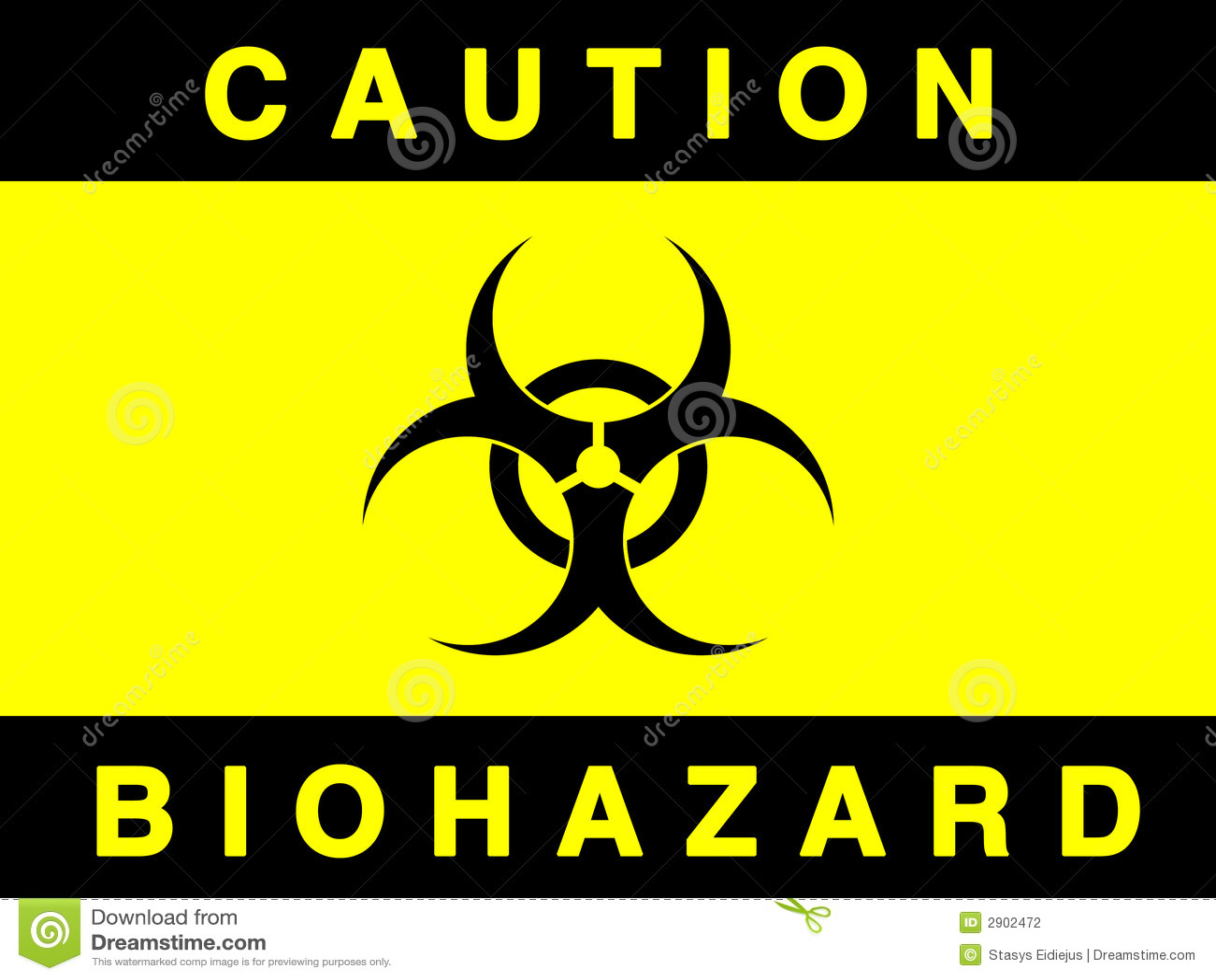 Danger 3d Wallpaper Download Biohazard Sign Stock Photography Image 2902472