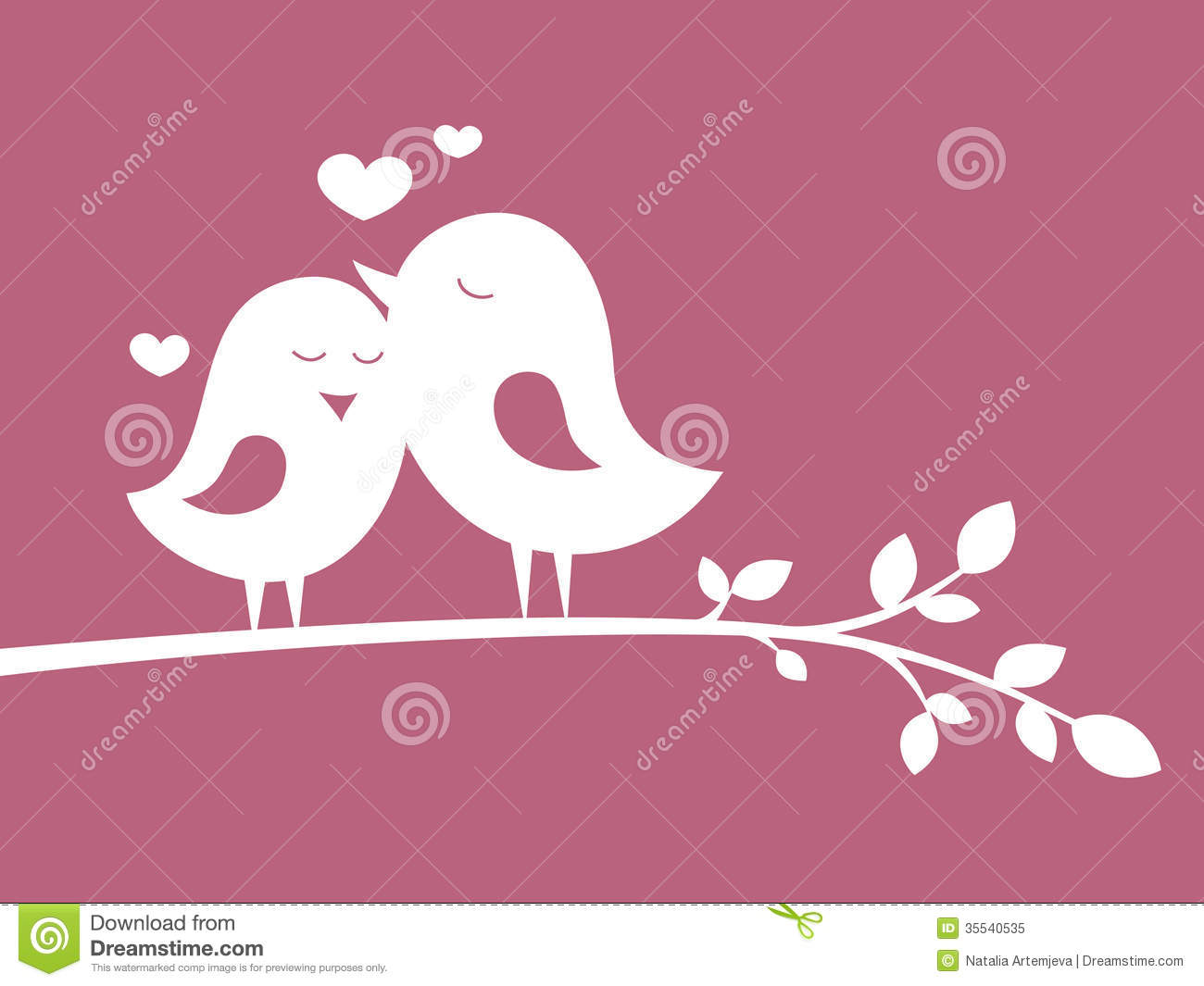 Romantic Boy And Girl Wallpapers Birds In Love 1 Royalty Free Stock Photo Image 35540535