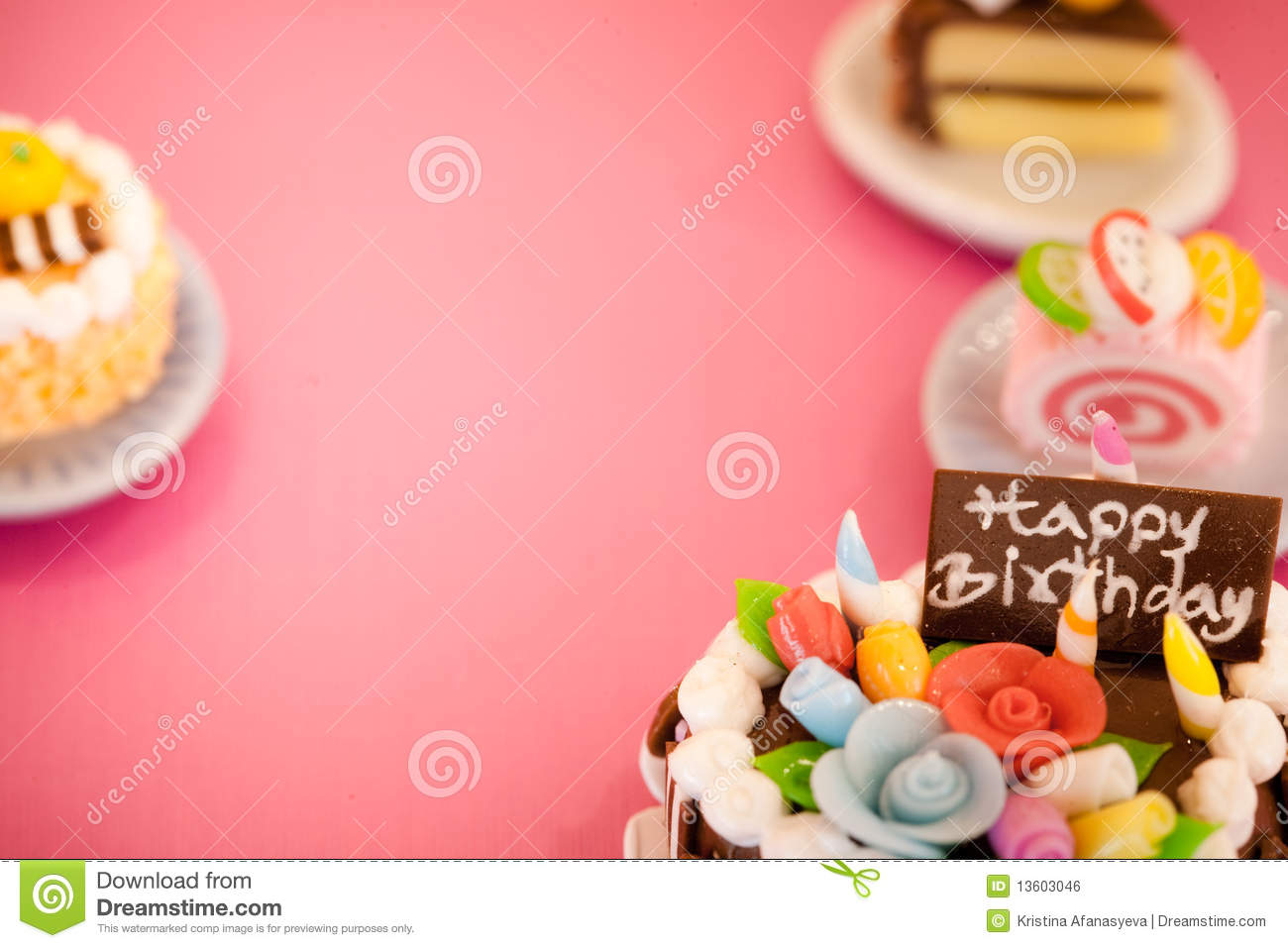 Birthday Cake Wallpaper 3d Download Birthday Cakes Background Royalty Free Stock Image Image