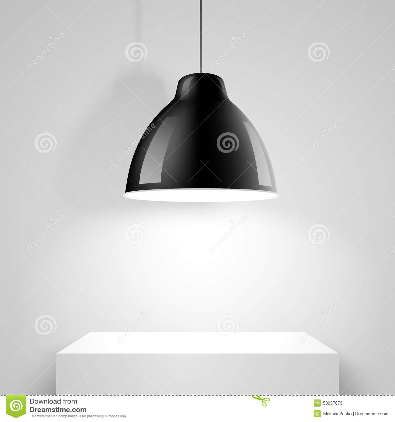 Ceiling Design Vector Black Ceiling Lamp Vector Stock Vector Image Of Modern