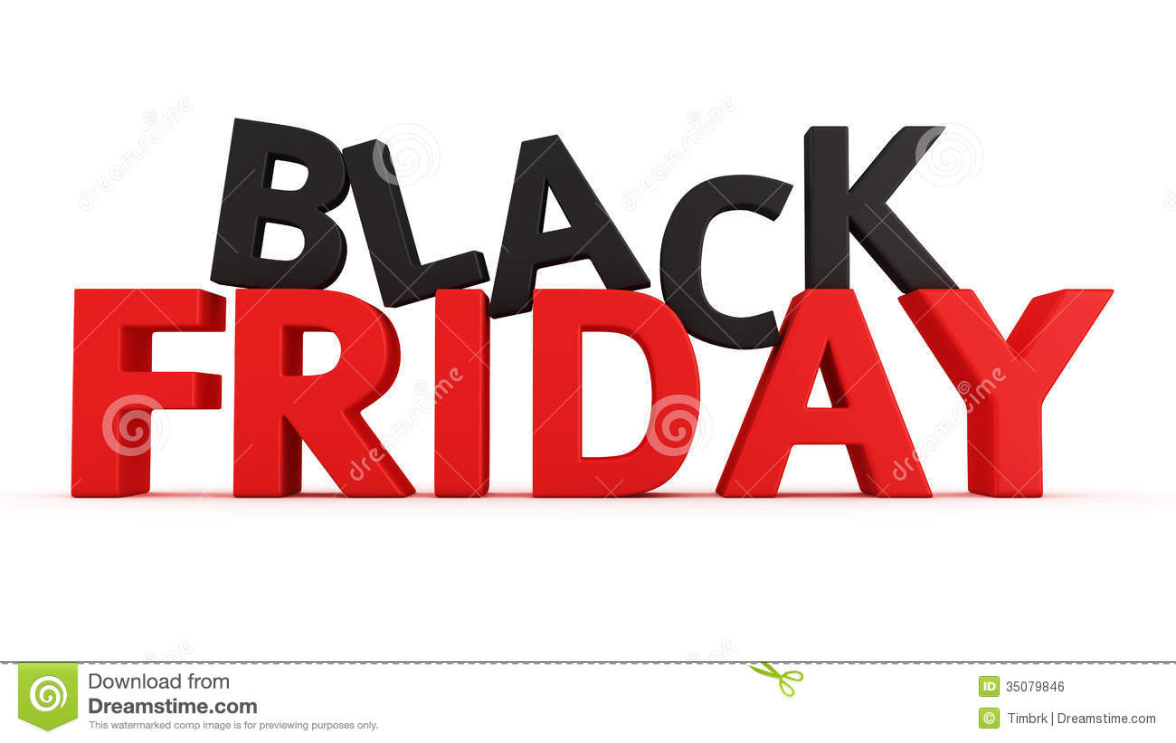 Black Frideay Black Friday Stock Illustration Image Of Discount