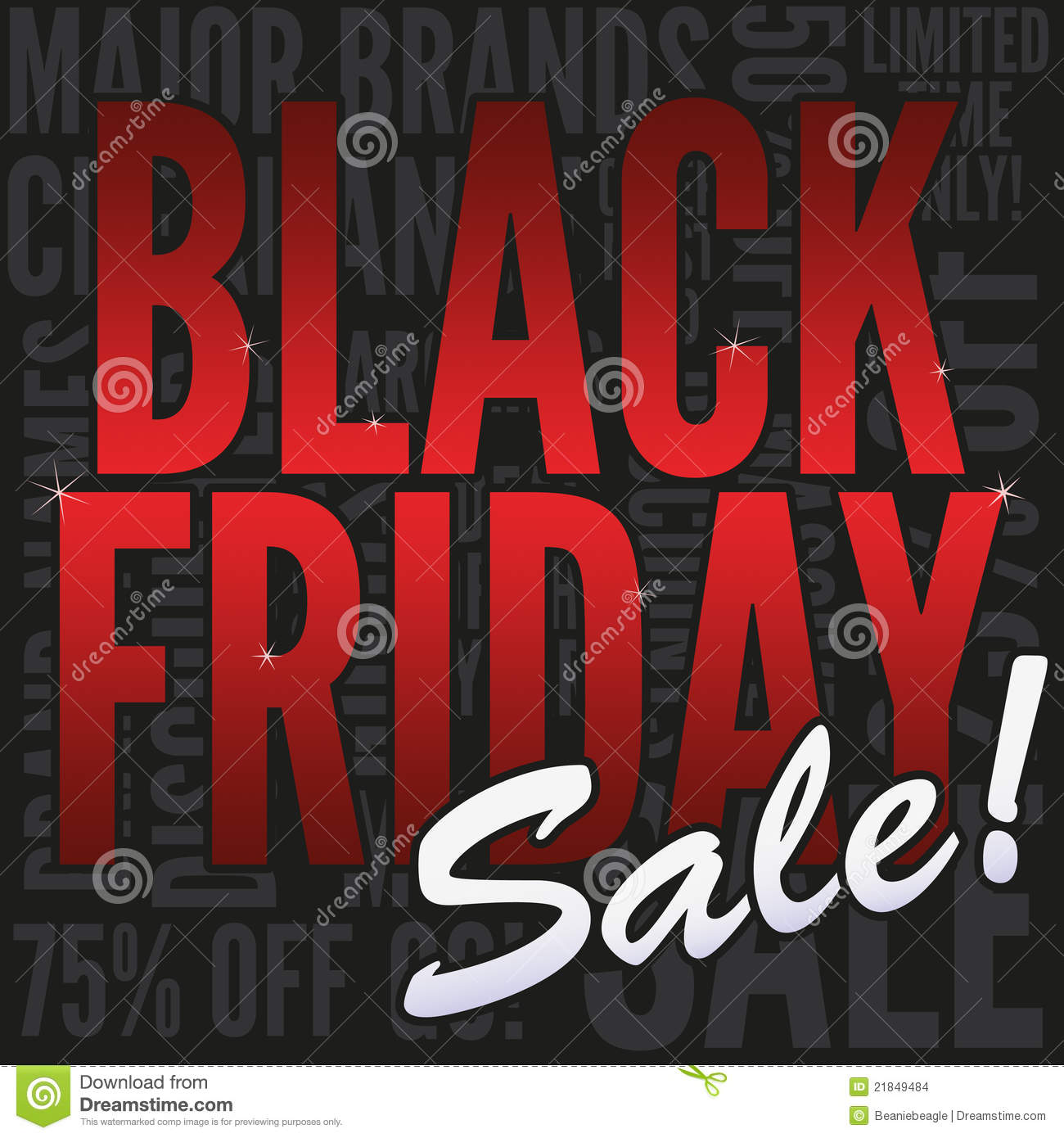 Friday Sale Black Friday Sale Banner Stock Images Image 21849484