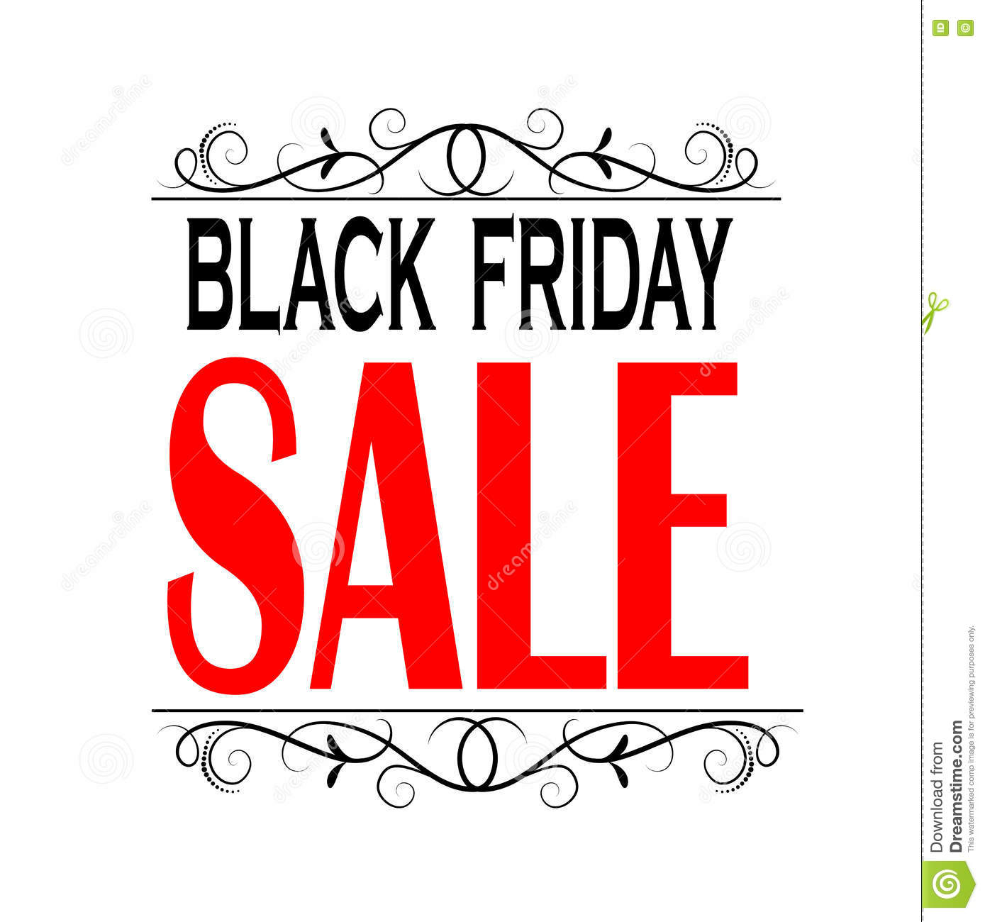 Friday Sale Black Friday Sale Banner Stock Vector Image 79253128