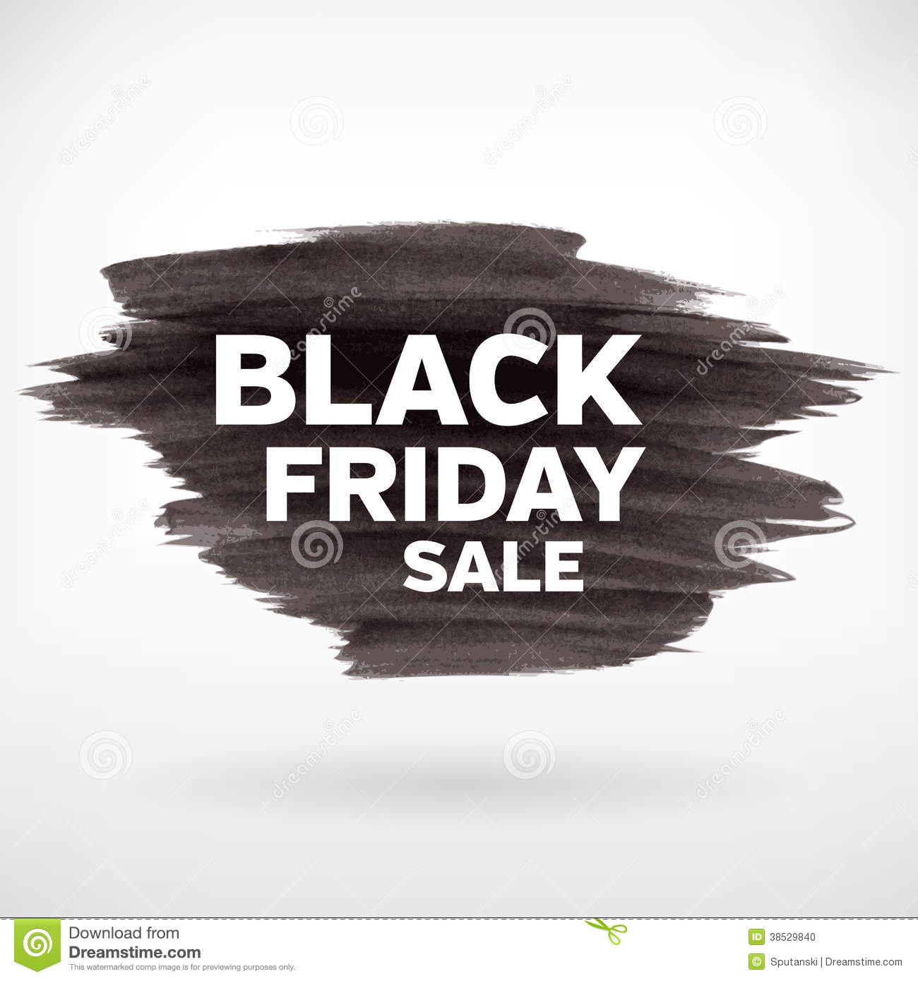 Friday Sale Black Friday Sale Banner Template Stock Photo Image