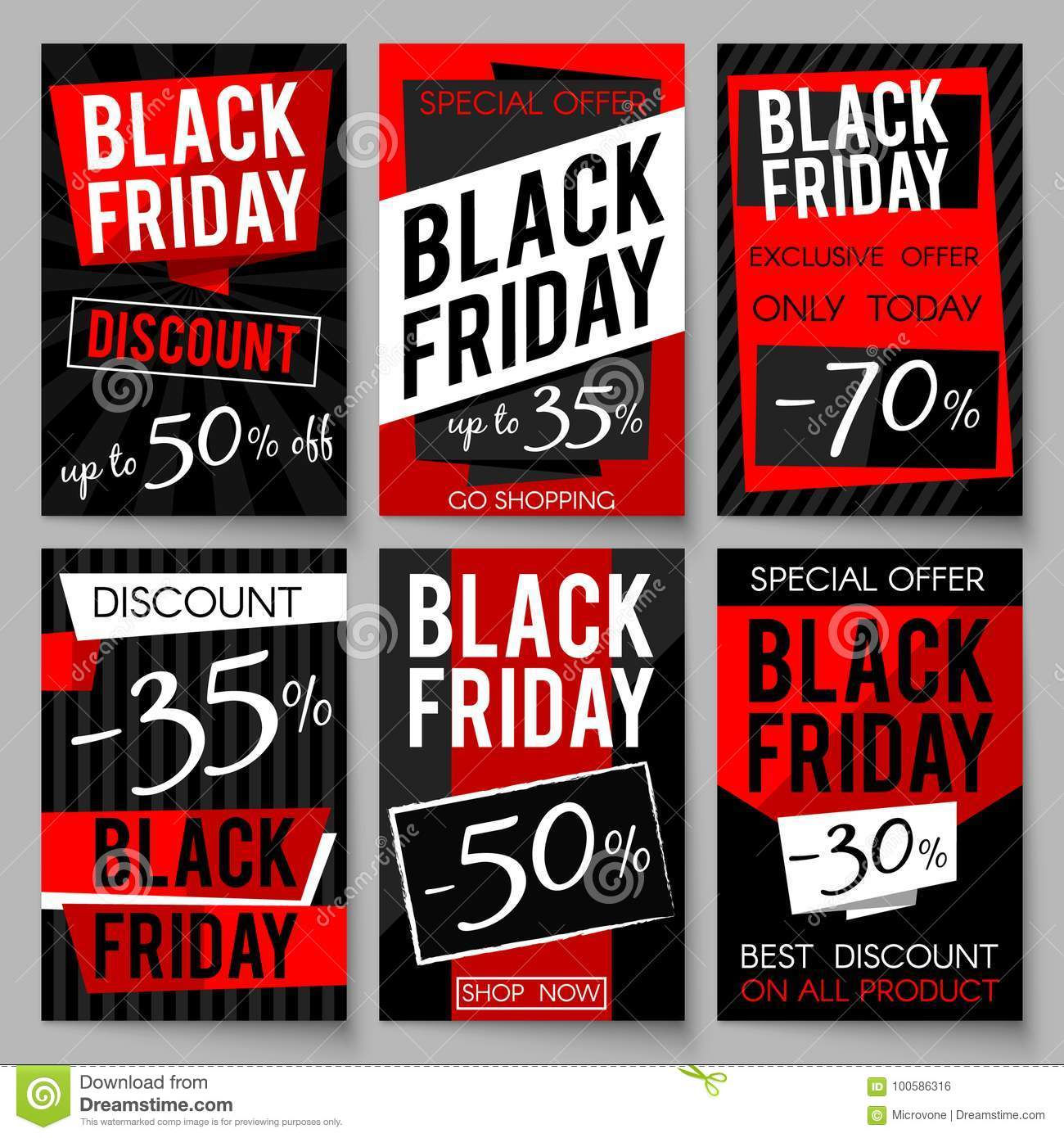 Black Friday Angebot Black Friday Verkaufswerbungsposter Vector Schablone Mit Bestem