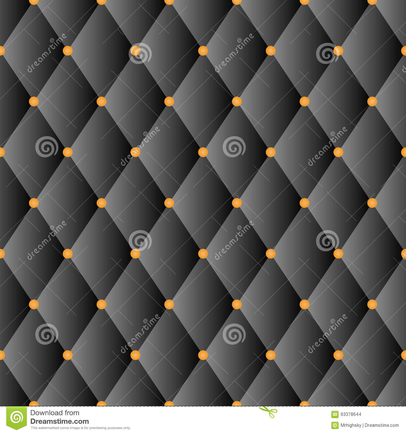 Sofa Texture Vector Black Luxury Sofa Diamond Pattern Stock Vector Illustration Of