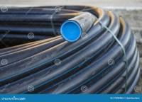 Black PVC pipe stock photo. Image of ground, building ...