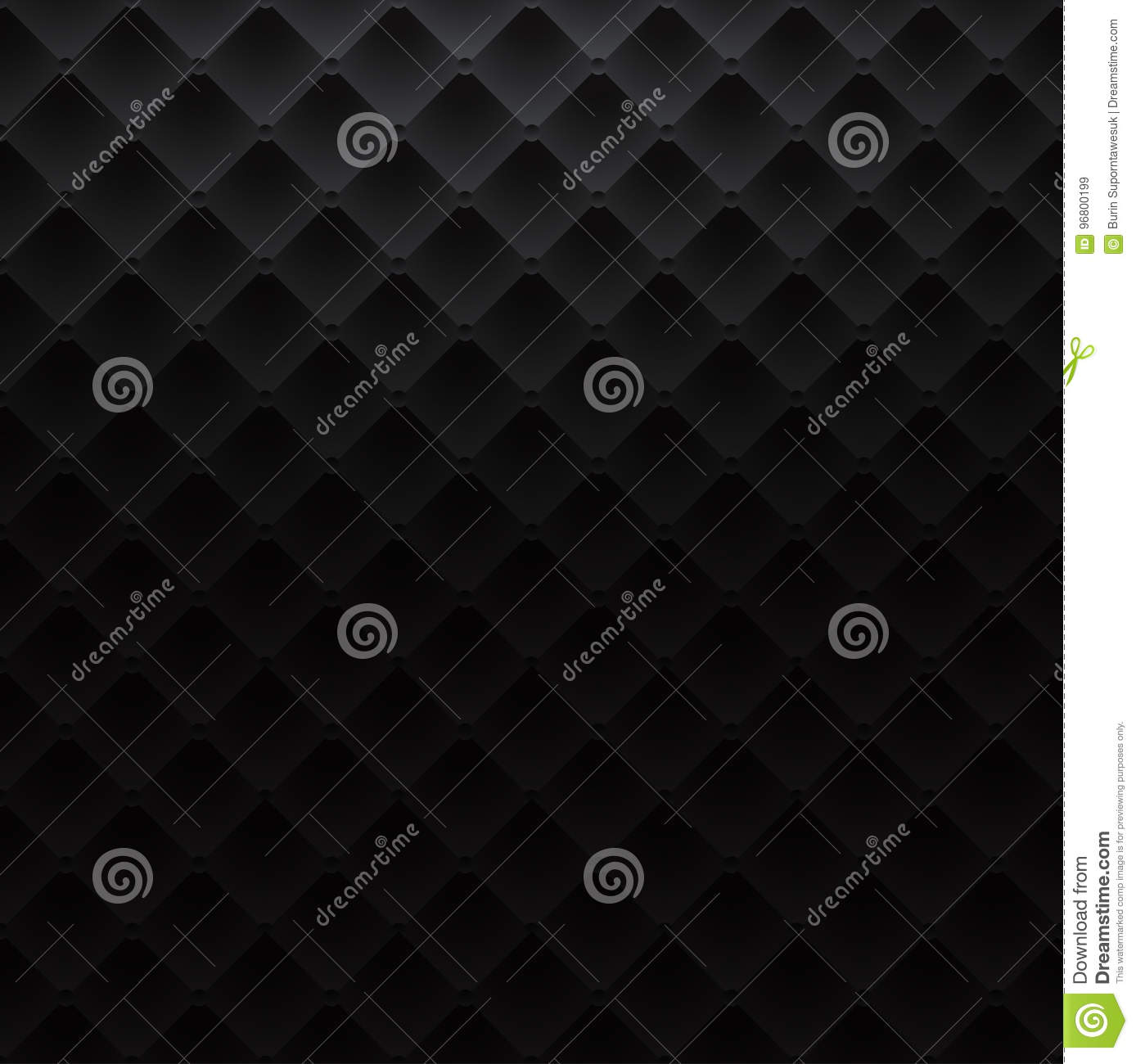 Sofa Texture Vector Black Square Luxury Pattern Sofa Texture Background Stock Vector