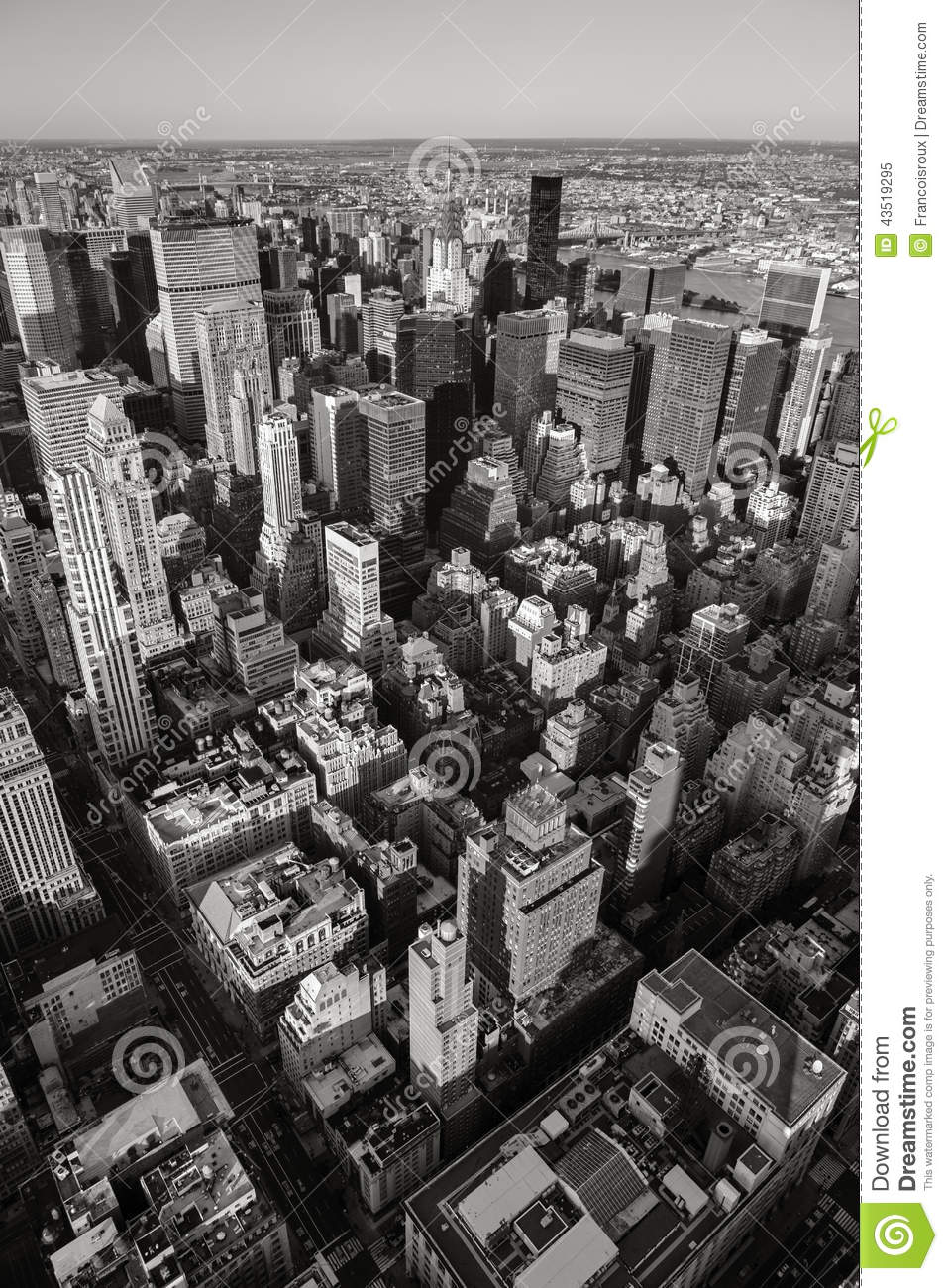 Urban Wallpaper Hd Black Amp White Aerial View Of Nyc Vertical New York Stock