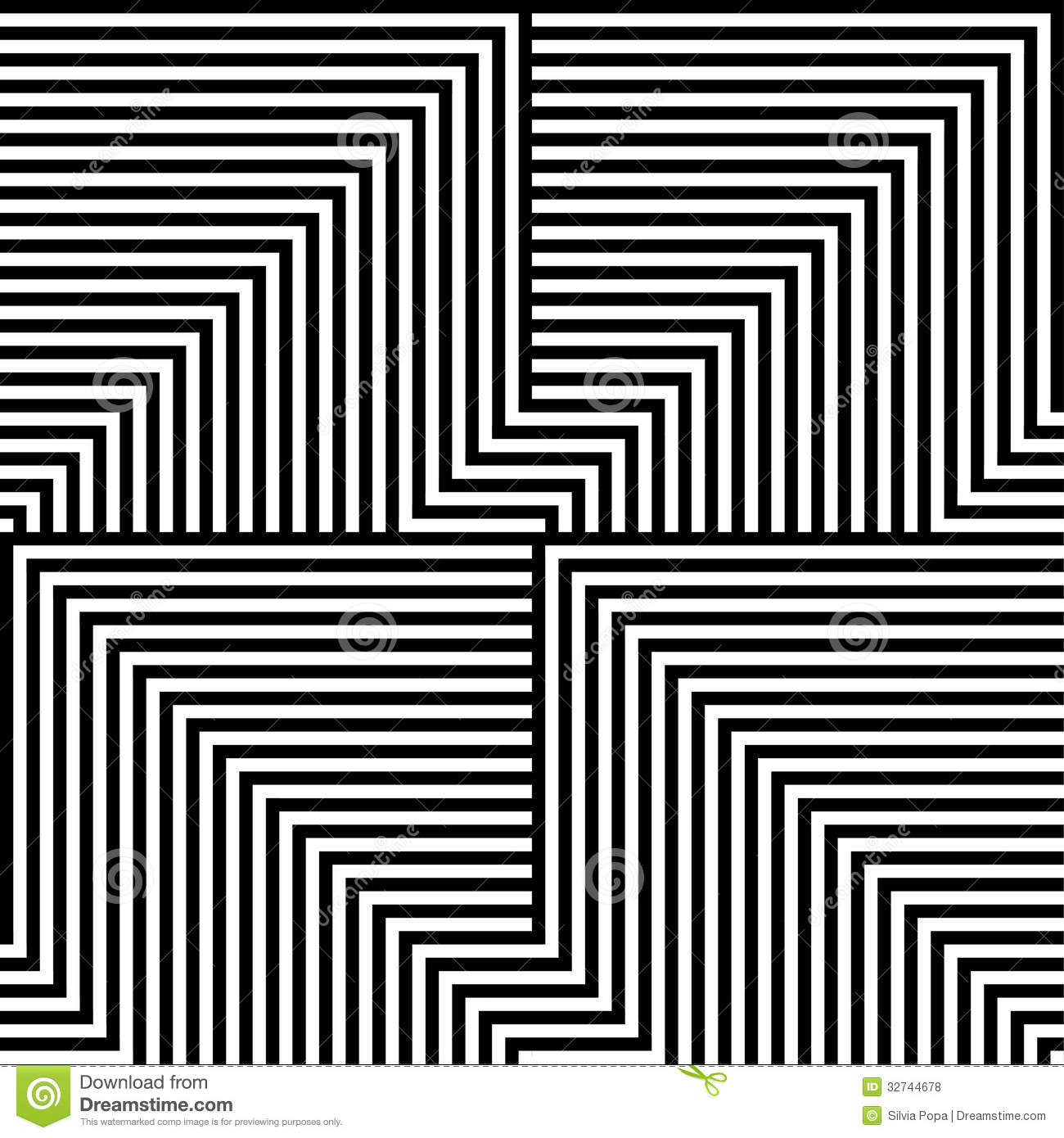 Line White Black And White Lines Pattern Royalty Free Stock Photos