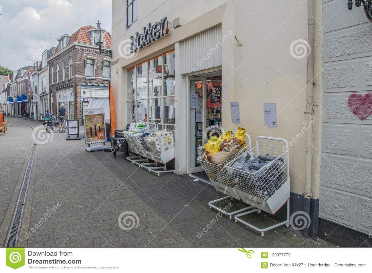 Blokker Sneek Openingstijden Blokker Store At Weesp The Netherlands Editorial Stock Photo