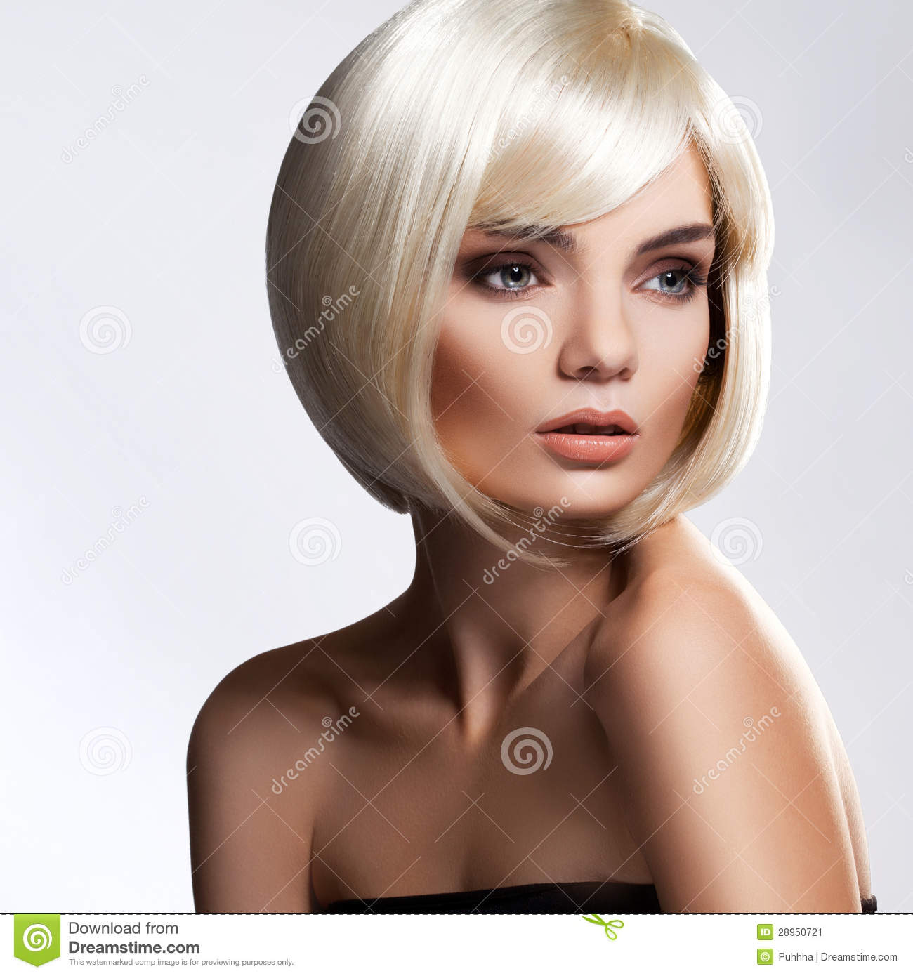 Blond Bob Short Blonde Hair High Quality Image Stock Image Image 28950721