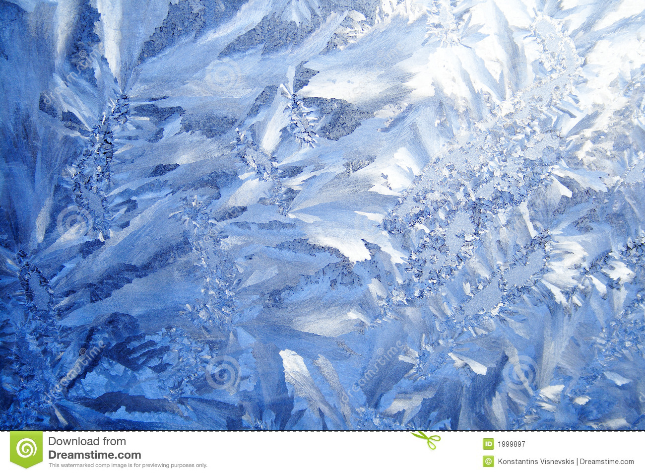 3d Grid Wallpaper Blue Frost Background Royalty Free Stock Photography
